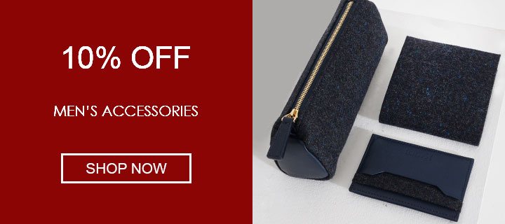 10% off men's accessories - Shop Now