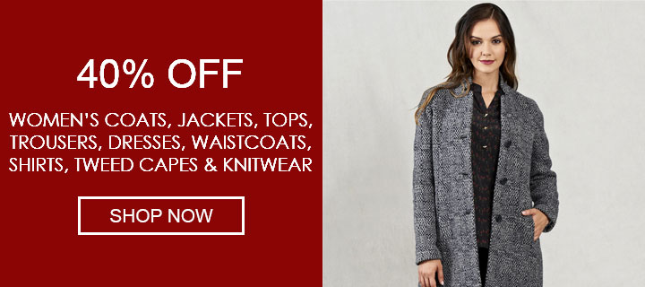 40% Off Selected Womenswear - Shop Now