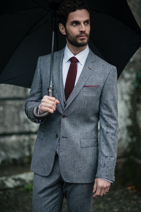 Donegal Tweed 3-Piece Fleck Suit