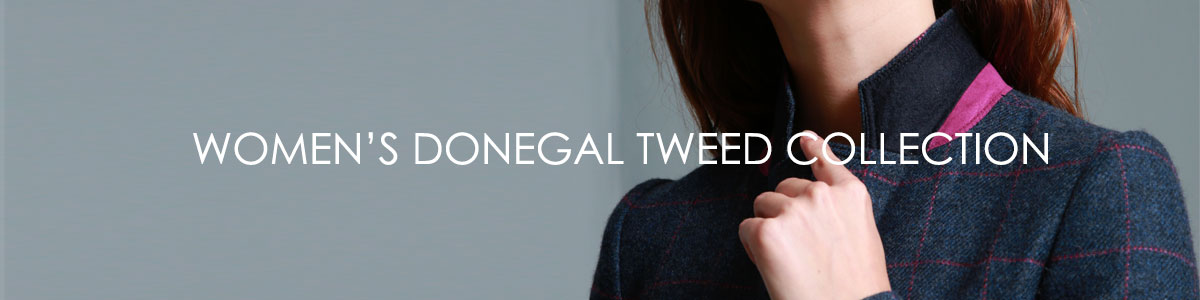 New Womenswear Donegal Tweed Collection AW18