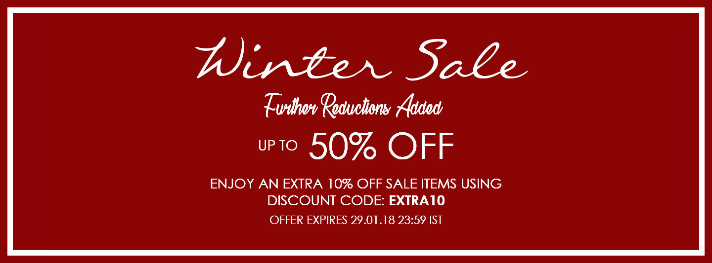 Winter Sale Sale - Up to 50% off selected items