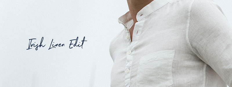 Men's Irish Made Linen Shirt Edit
