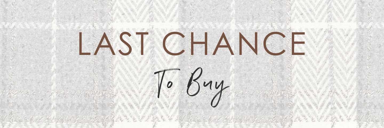Last Chance Buy