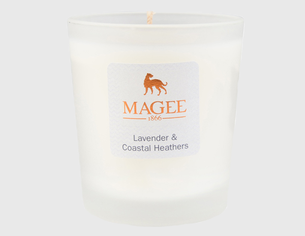 Lavender & Heather Natural Wax Candle