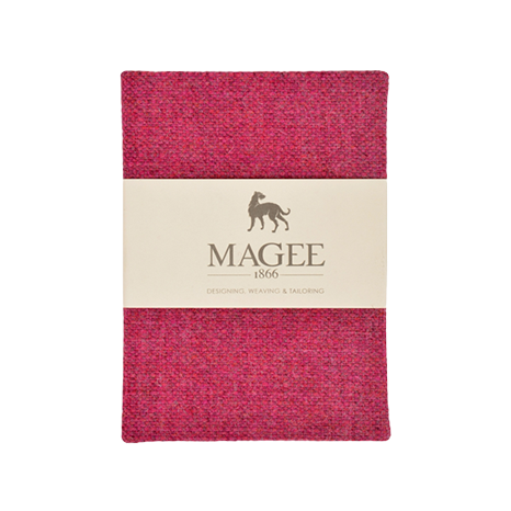 Pink Donegal Tweed Salt & Pepper Magee Note Book