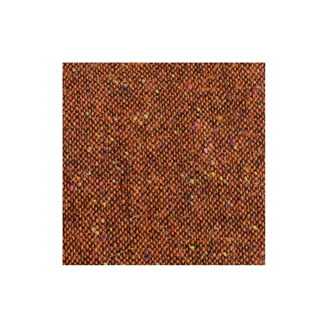 Rust Salt & Pepper Flecked Donegal Tweed
