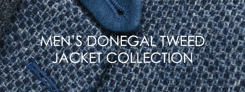 Menswear AW16 Donegal Tweed Jacket Collection