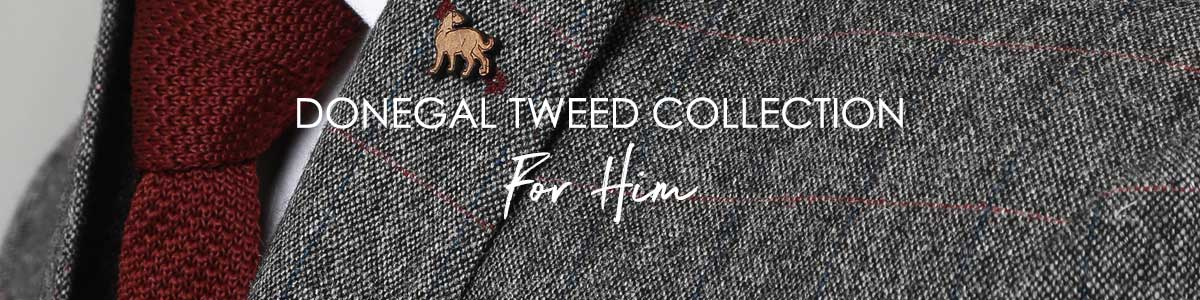 Men's Donegal Tweed Collection