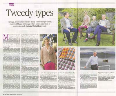 Irish Times - Tweedy Type