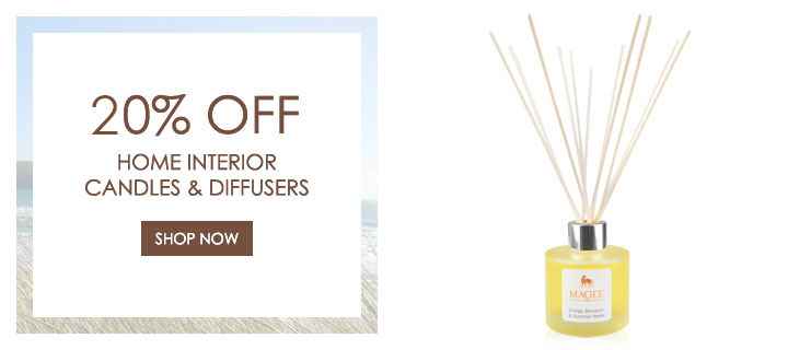 10% Off Candles and Diffusers