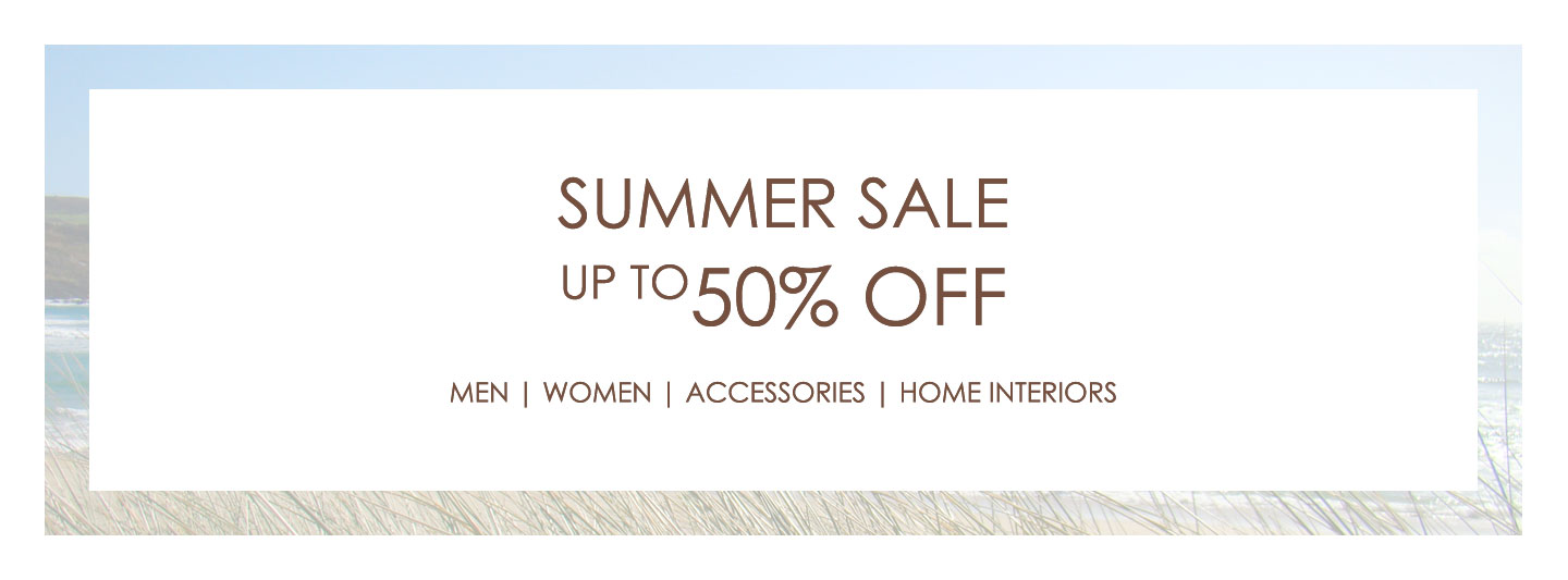 Summer Sale - Up to 50% off