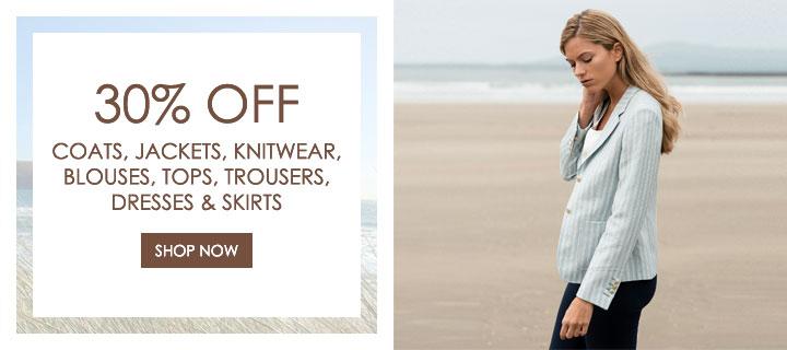 30% Off Selected Womenswear