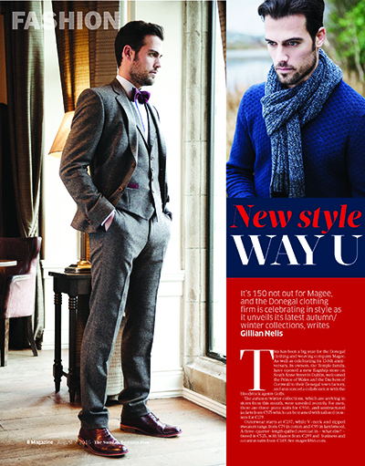 Sunday Business Post - Dapper Menswear Clothing