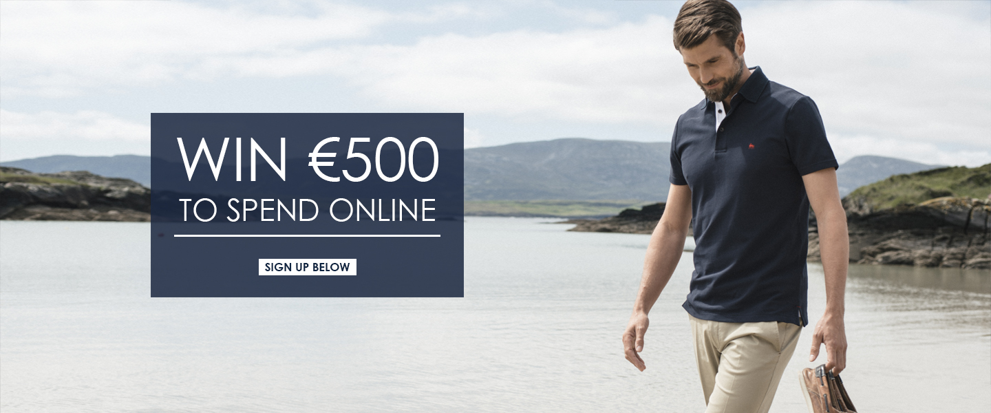 Sign up to win €500