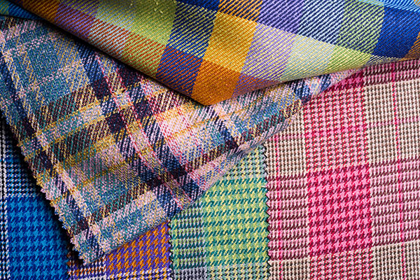 Magee 1866 Colourful Tweed Summer Weight Fabric