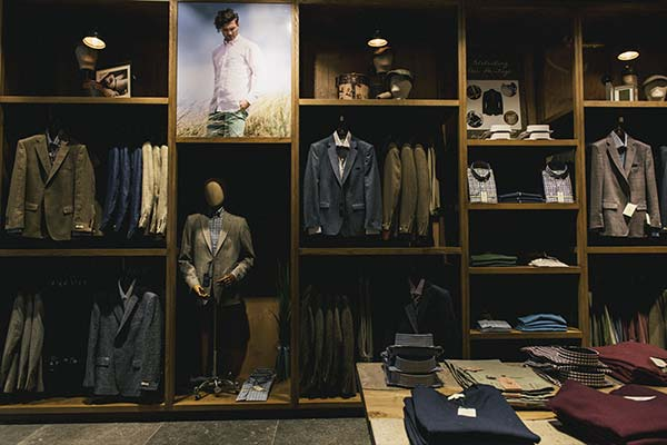 Magee of South Anne St Mens Display