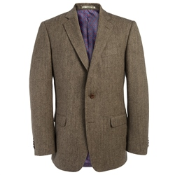 Magee Clothing Lightweight Brown & Camel Donegal Tweed Regular Fit Blazer