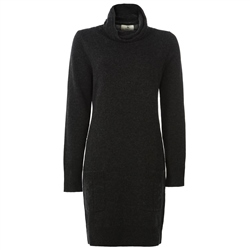 Magee 1866 Charcoal Wool & Cashmere Jumper Dress