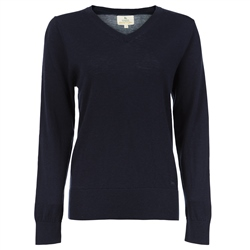 Magee 1866 Navy Merino Wool Jumper