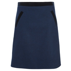 Magee Clothing Blue & Black Donegal Tweed Skirt