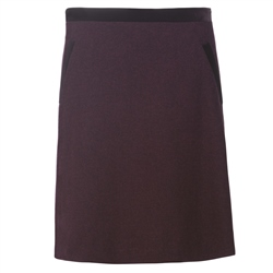 Magee Clothing Burgundy Donegal Tweed Skirt
