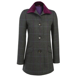 Women's Coats - Luxury Tweed Coats | Magee 1866 Donegal Tweed
