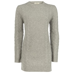 Magee 1866 Grey Cashmere Carina Sweater