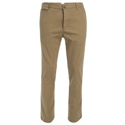 Magee 1866 Mustard Straight Leg Cotton Trousers