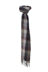 Magee 1866 Luxury Herringbone Checked Patchwork Scarf