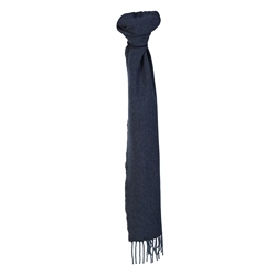 Magee Clothing Luxury Navy & Blue Hopsack Scarf