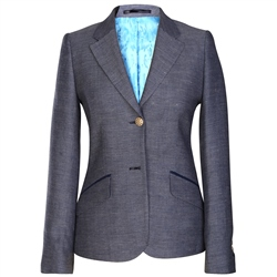 Magee Clothing Blue Alicia Nautical Themed Blazer