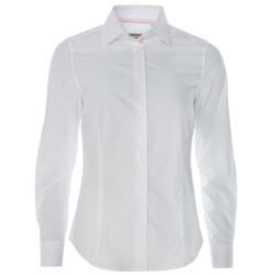 Magee 1866 White & Pink Ribbon Shirt