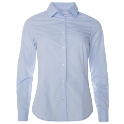 Magee Clothing Sky Blue & Pink Ribbon Shirt