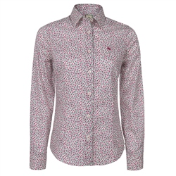 Magee Clothing Pink & White Liberty Floral Print Shirt
