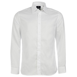 Magee Clothing White Formal Tailored Fit Shirt
