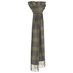 Magee 1866 Luxury Multicoloured Plaid Scarf