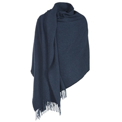 Magee Clothing Luxury Navy Hopsack Pashmina