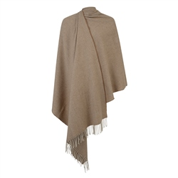 Magee Clothing Luxury Camel Hopsack Pashmina