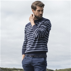Magee Clothing Nautical Inspired Cashmere Striped Jumper