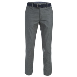 Magee Clothing Charcoal Naran Tailored Fit Trouser
