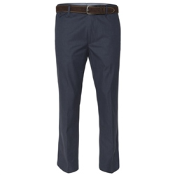 Magee 1866 Naran Navy Tailored Fit Trousers