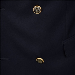Navy Double Breasted Classic Fit Blazer