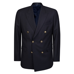 Magee Clothing Navy Double Breasted Regular Fit Blazer