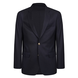 Navy Single Breasted Classic Fit Blazer