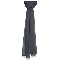 Magee 1866 Denim Coloured Scarf