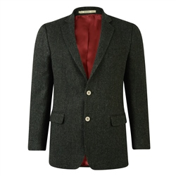 Magee Clothing Green Donegal Tweed Regular Fit Blazer