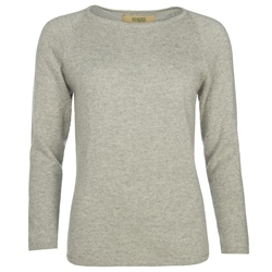 Magee 1866 Luna Grey Cashmere Luminary Jumper