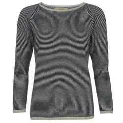 Magee Clothing Luna Striped Cashmere Luminary Jumper