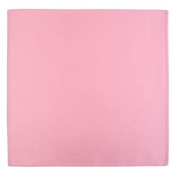 Magee 1866 Pink Satin Silk Pocket Square