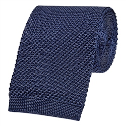 Magee 1866 Navy Knitted Tie